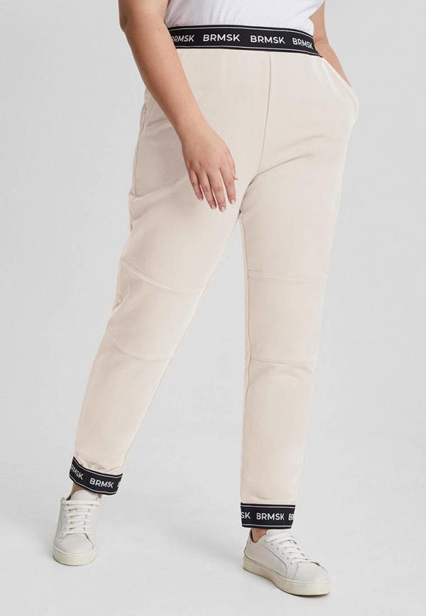 женские спортивные брюки barmariska, бежевые