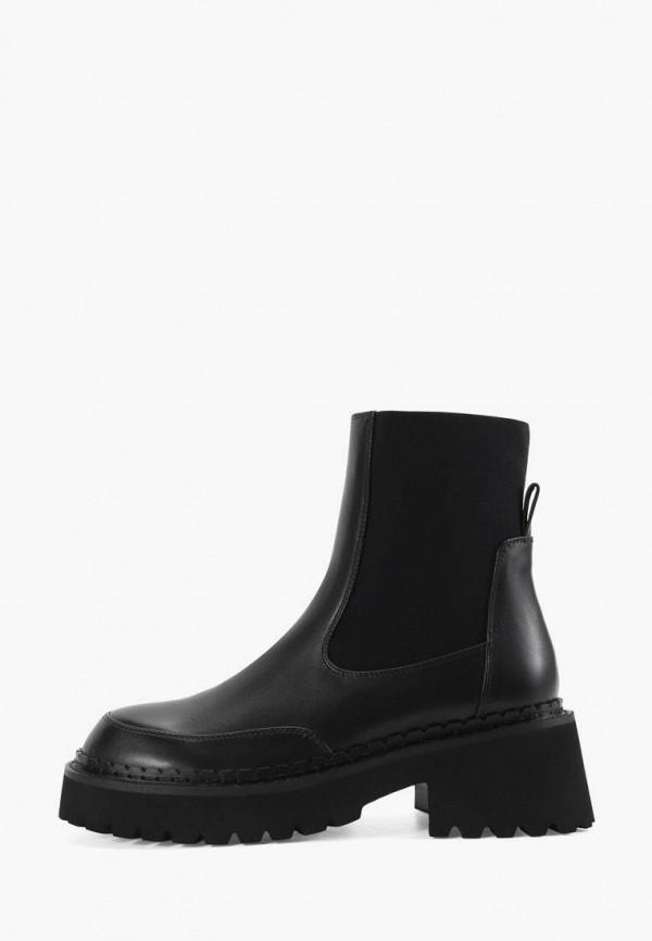Ботинки Portal цвет черный