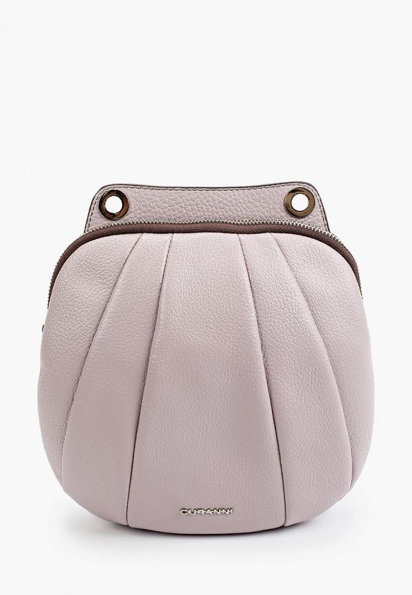 женская сумка через плечо curanni, розовая
