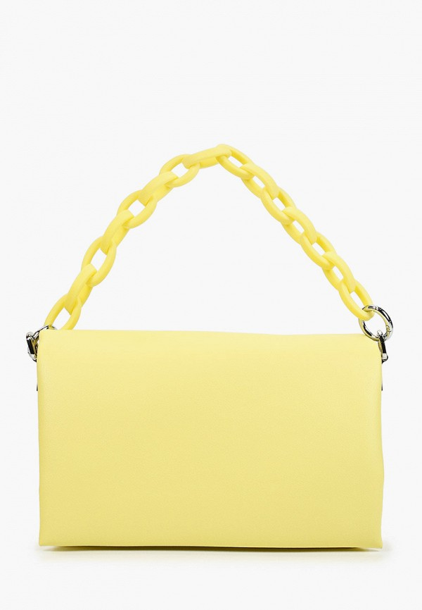 женская сумка с ручками marco bonne', желтая