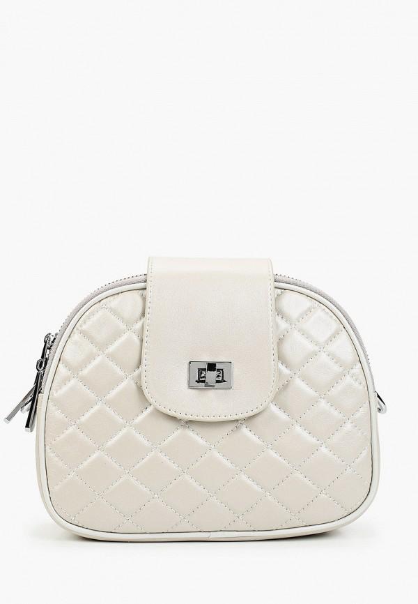 женская сумка через плечо marco bonne', серая