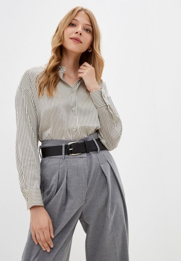 женская блузка с длинным рукавом incity, белая