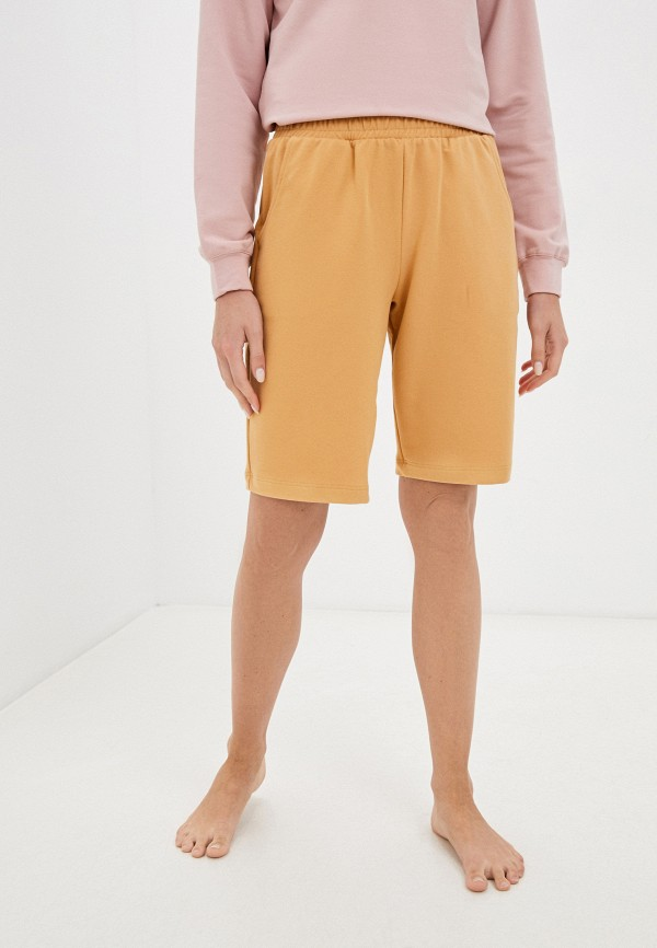 женские шорты eva cambru, коричневые