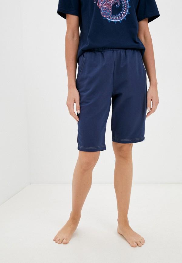 женские шорты eva cambru, синие