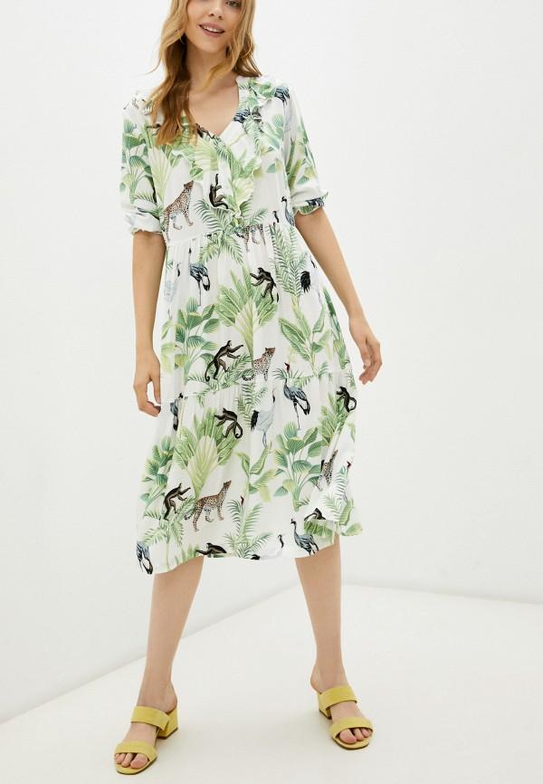 женское платье eva cambru, белое