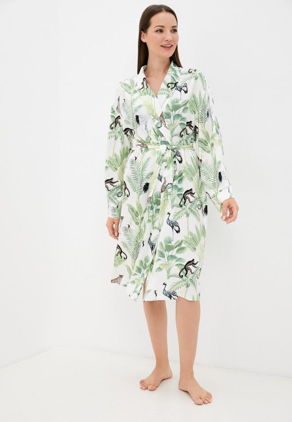 женский халат eva cambru, белый