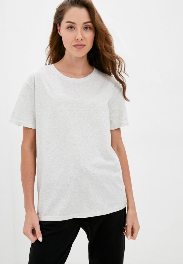 женская футболка eva cambru, серая