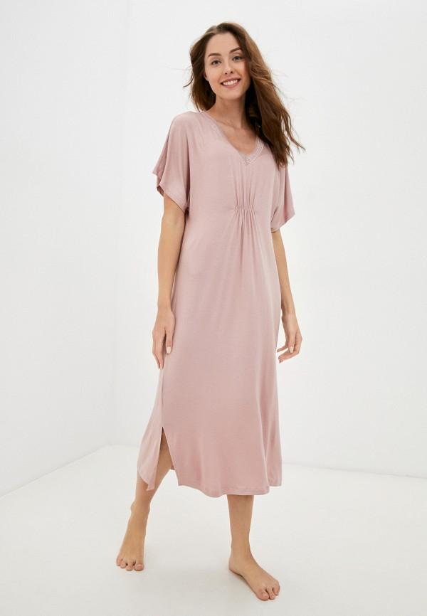 женское платье eva cambru, розовое