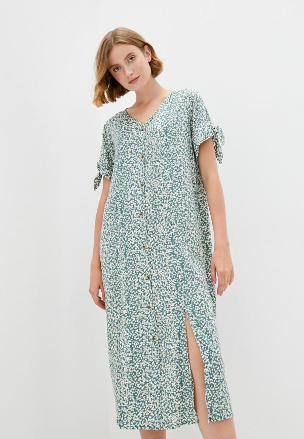 женское платье eva cambru, зеленое