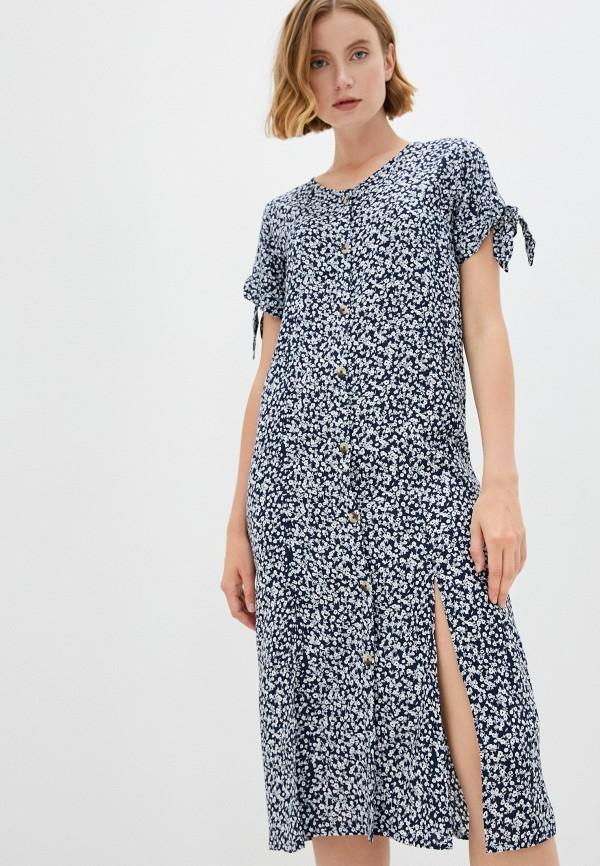 женское платье eva cambru, синее