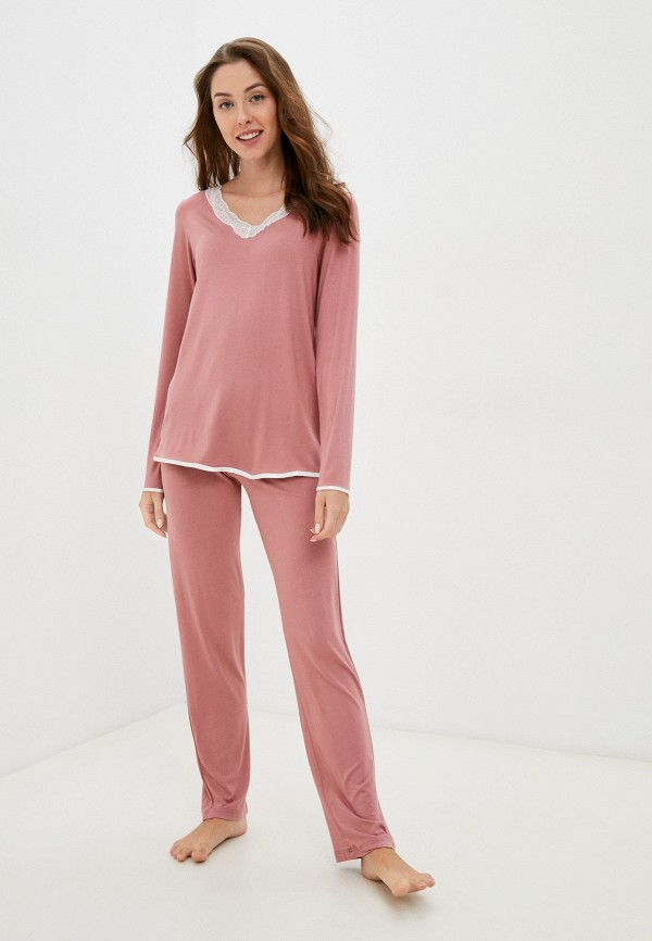 женский костюм eva cambru, розовый