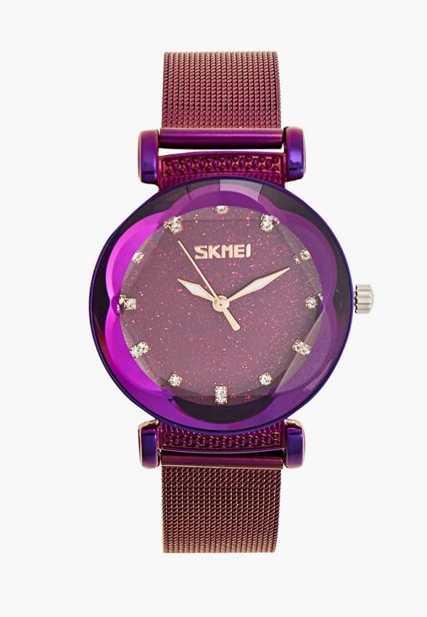 женские часы skmei, фиолетовые