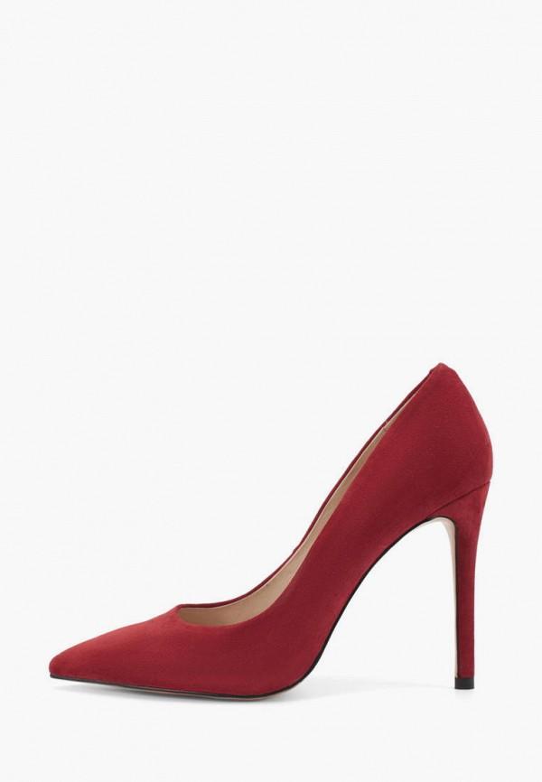 женские туфли-лодочки portal, красные