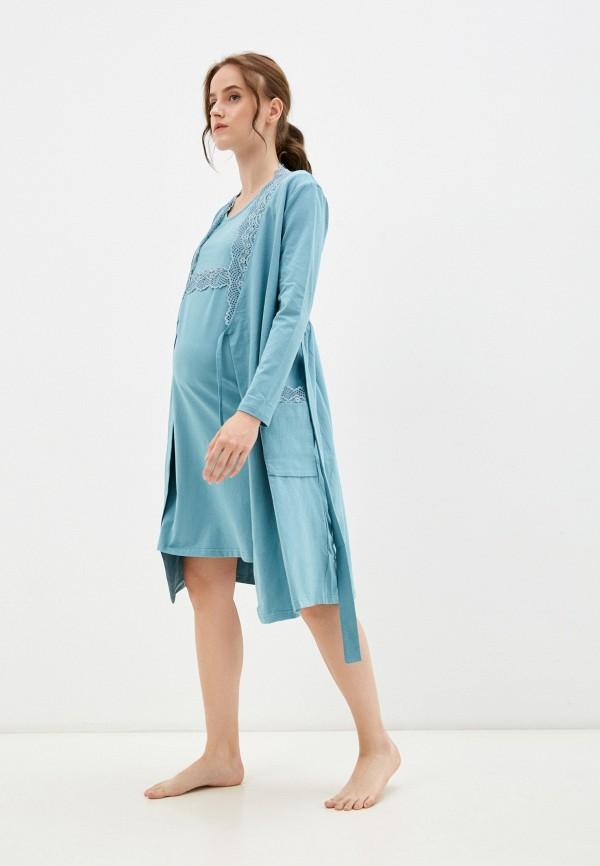 женская домашняя одежда all mixes, бирюзовая