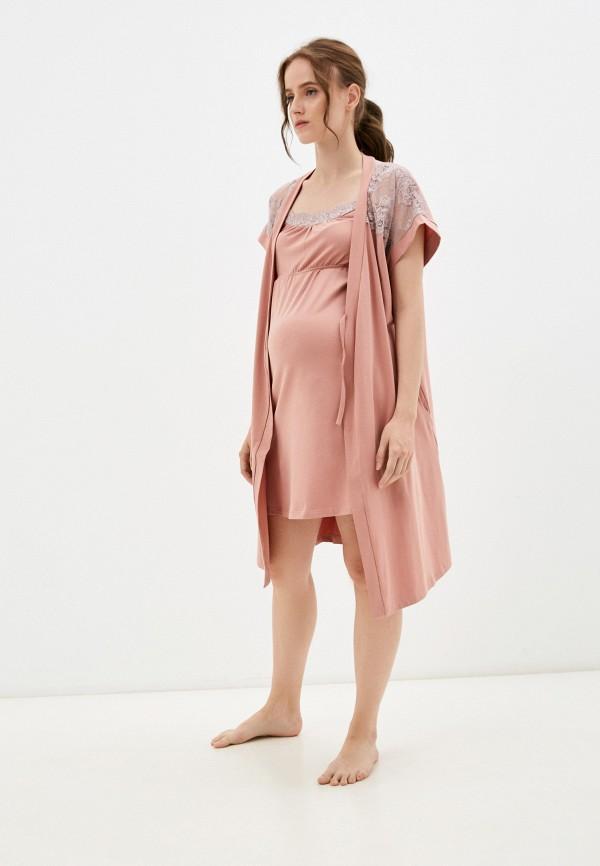женская домашняя одежда all mixes, розовая