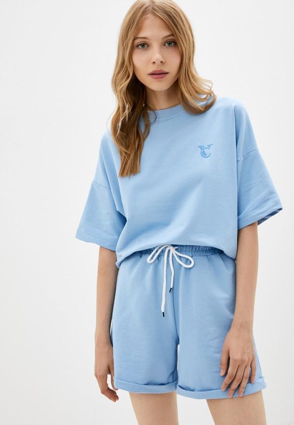 женский спортивный костюм vitacci, голубой
