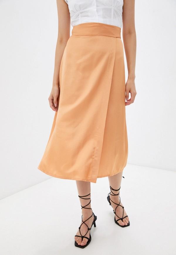 женская прямые юбка dorogobogato, оранжевая