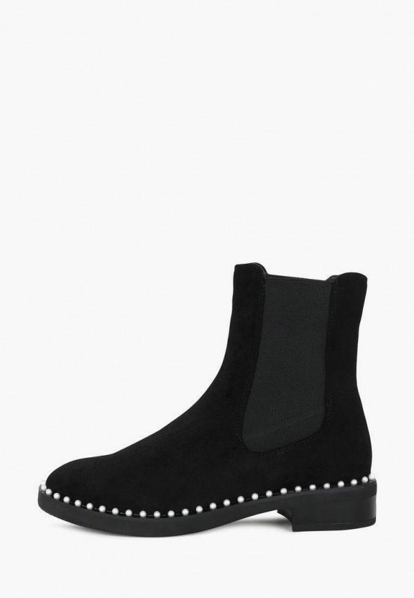 женские ботинки-челси t.taccardi, черные