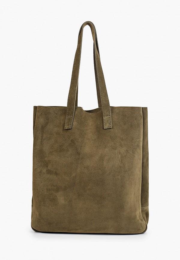 женская сумка-шоперы lokis, хаки