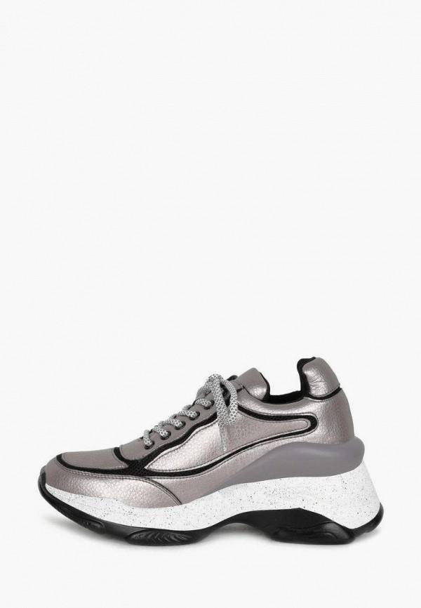 женские низкие кроссовки alessio nesca, серебряные