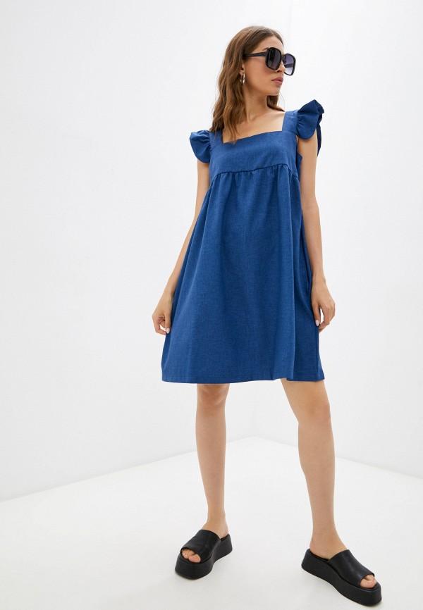 Сарафан Vittoria Vicci синего цвета