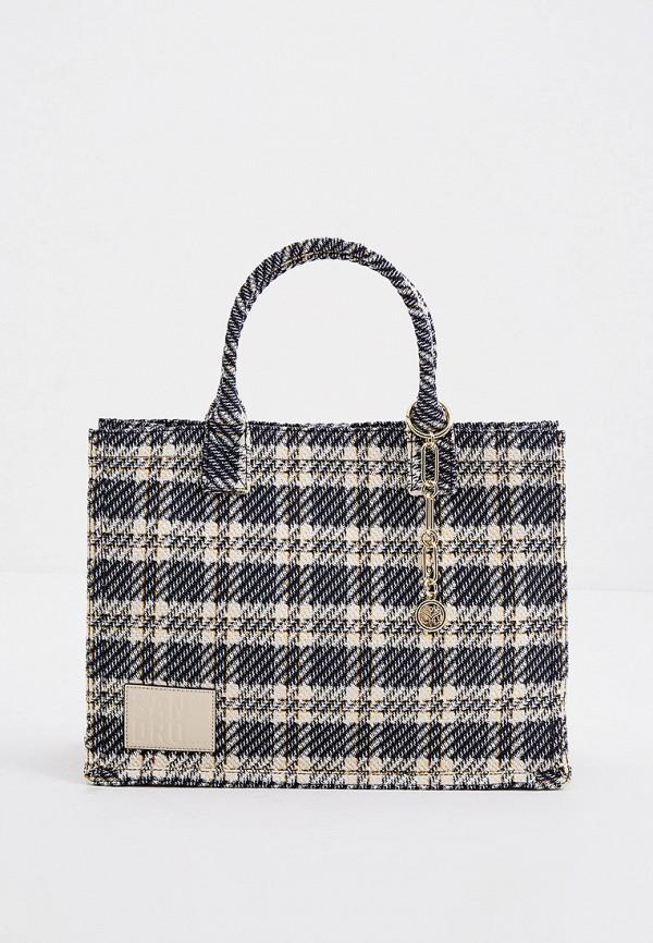 женская сумка с ручками sandro, разноцветная