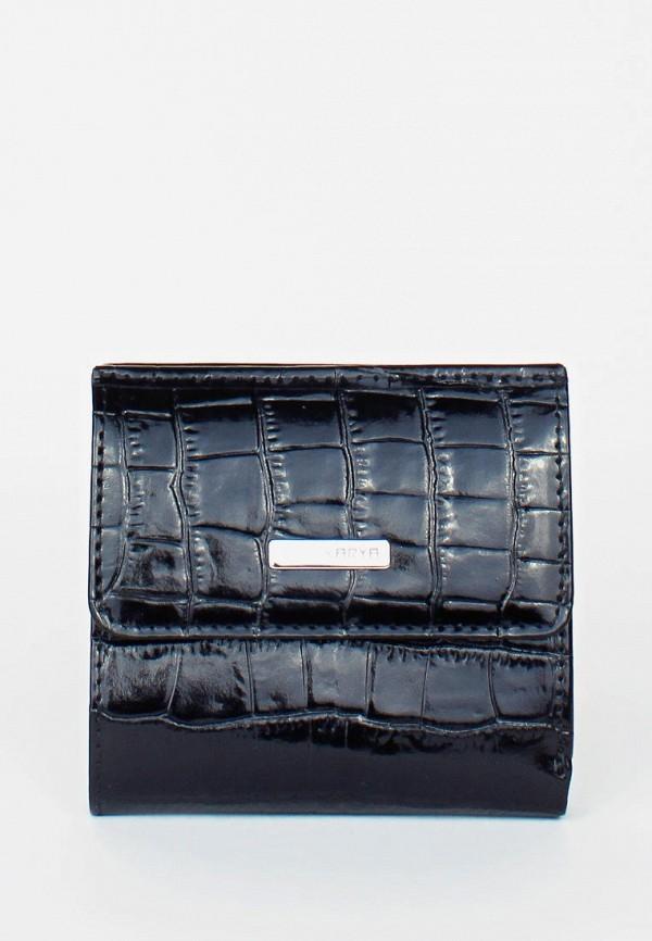 женский кошелёк karya, черный