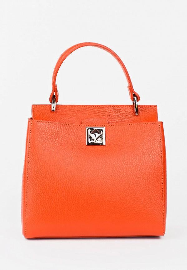 женская сумка bella bertucci, оранжевая