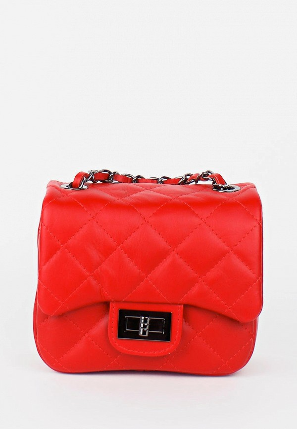 женская сумка bella bertucci, красная