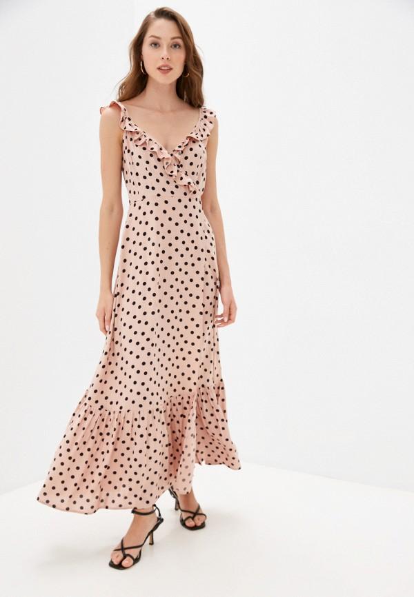 Платье Ruxara розового цвета