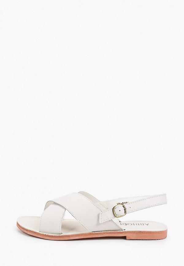 женские сандалии abricot, белые