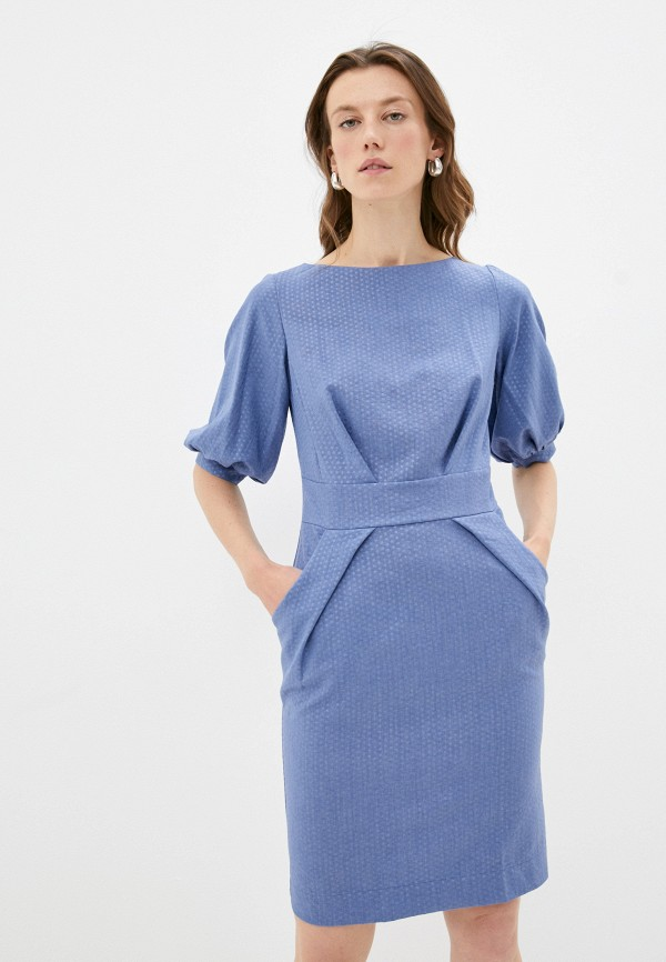 женское повседневные платье patricia charme, синее