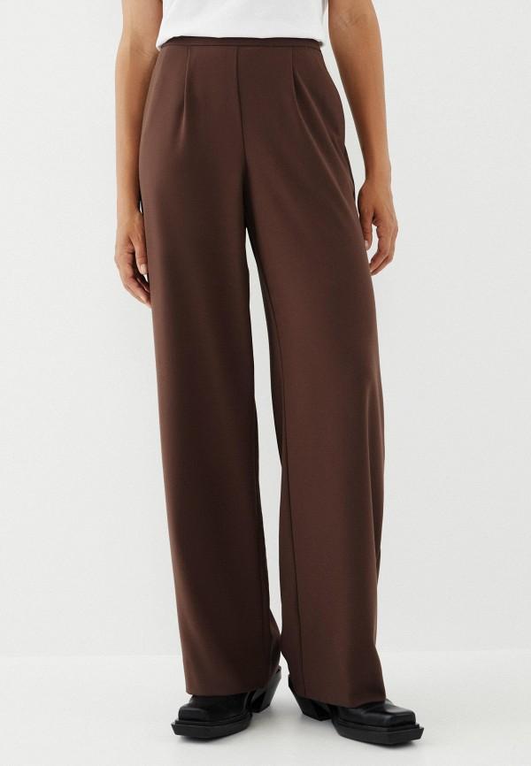 женские повседневные брюки zarina, коричневые