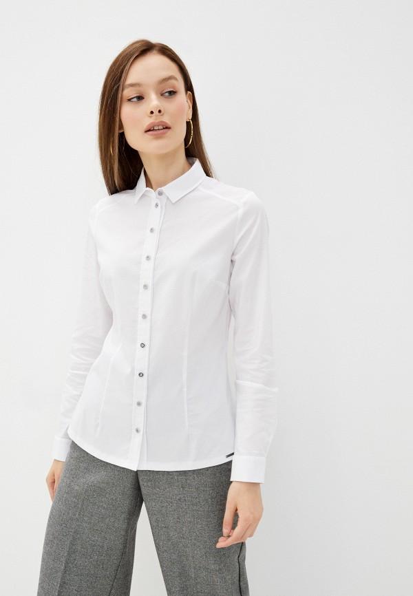 женская рубашка с длинным рукавом salko, белая