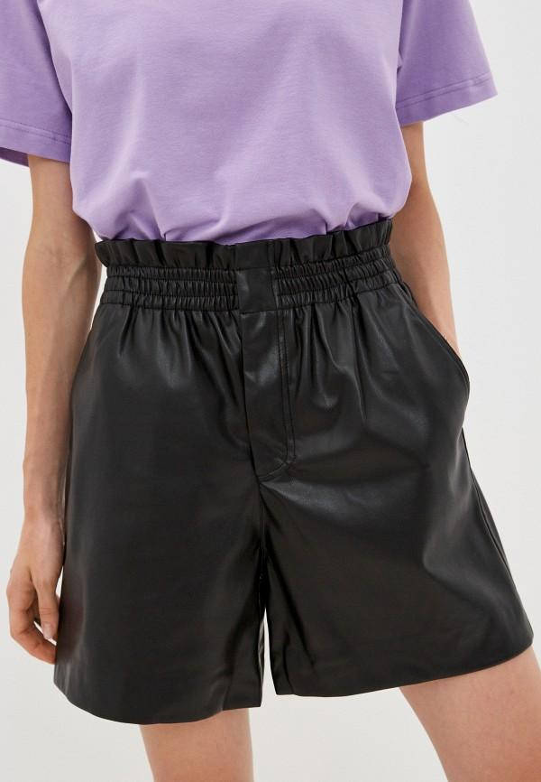 женские повседневные шорты sela, черные