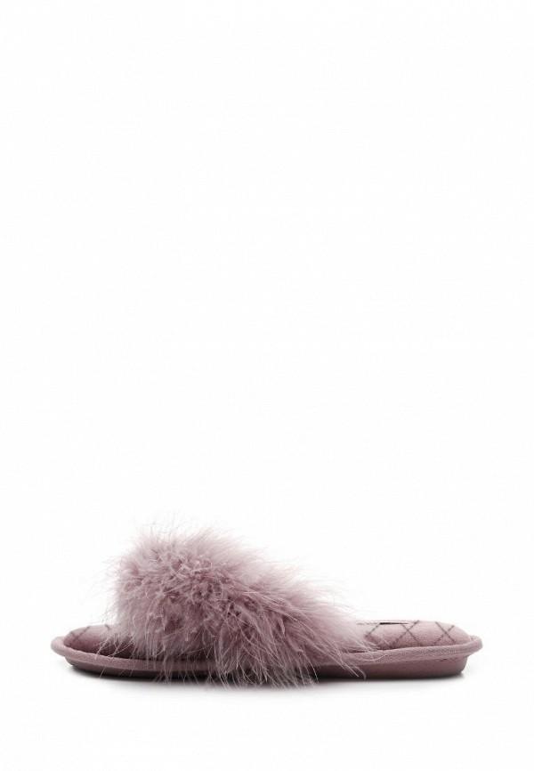 женские тапочки pettimelo, фиолетовые