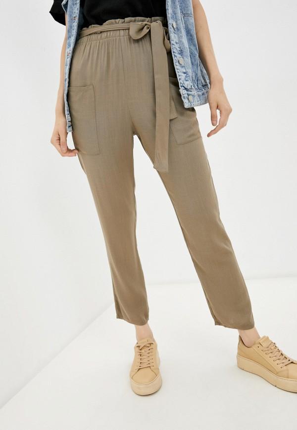 женские брюки джоггеры tezenis, бежевые