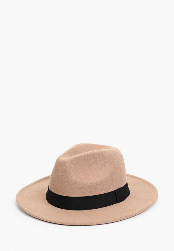 женская шляпа sela, бежевая