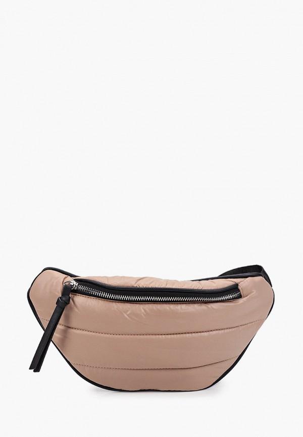 женская поясные сумка sela, бежевая