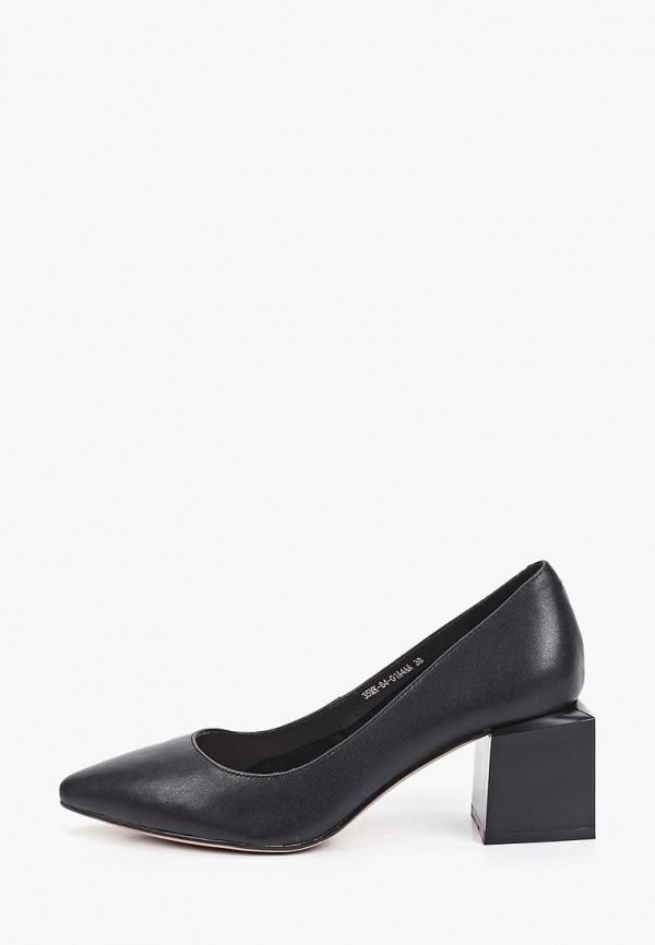 женские туфли с закрытым носом makfine, черные