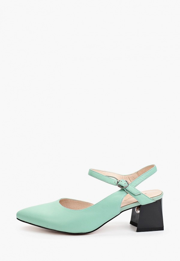 женские туфли el'rosso, бирюзовые