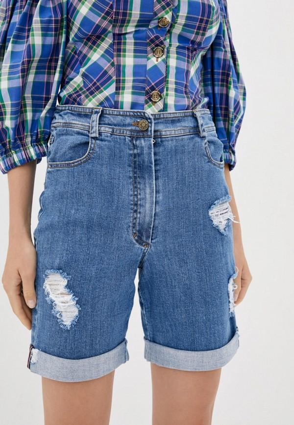 женские джинсовые шорты dolcedonna, голубые