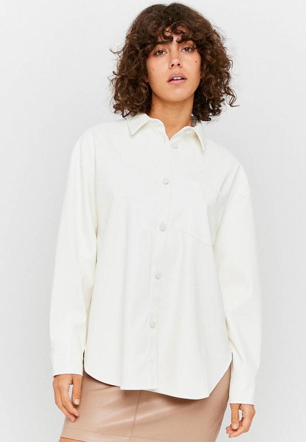 женская рубашка с длинным рукавом tally weijl, белая