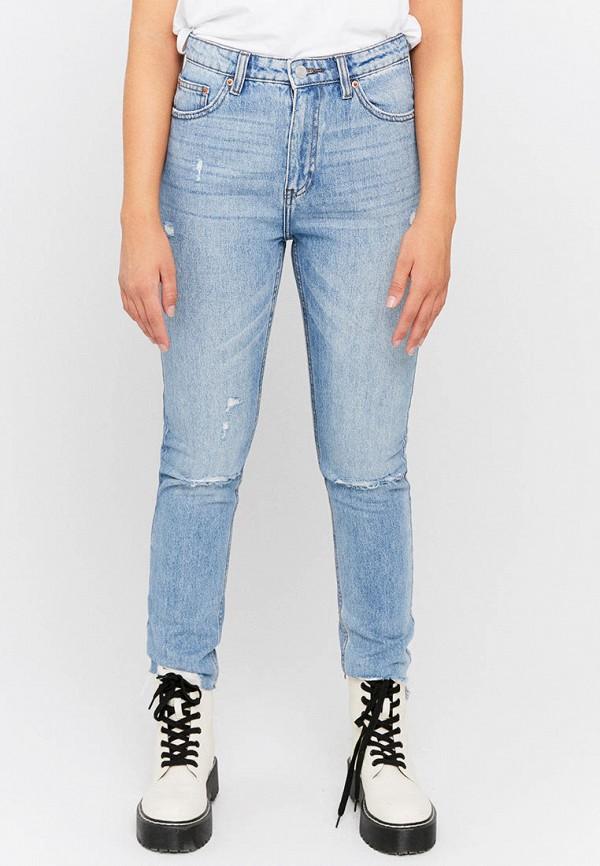женские джинсы tally weijl, голубые