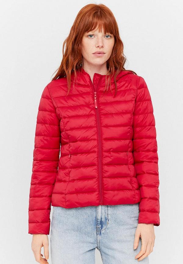 женская куртка tally weijl, красная