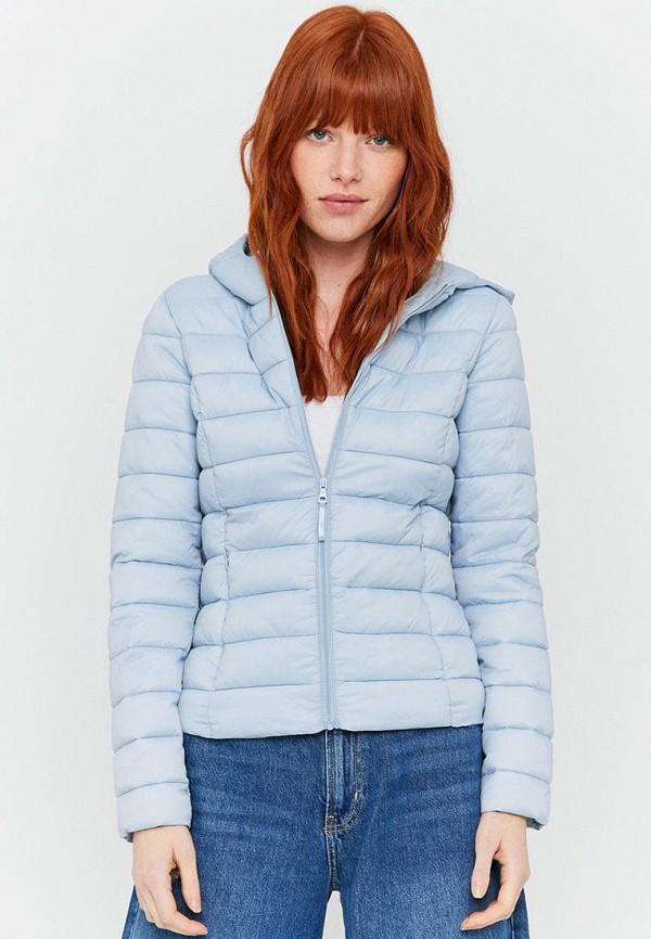женская куртка tally weijl, голубая