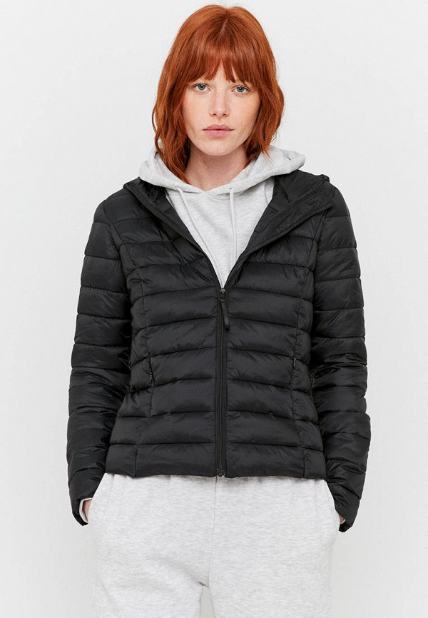 женская куртка tally weijl, черная