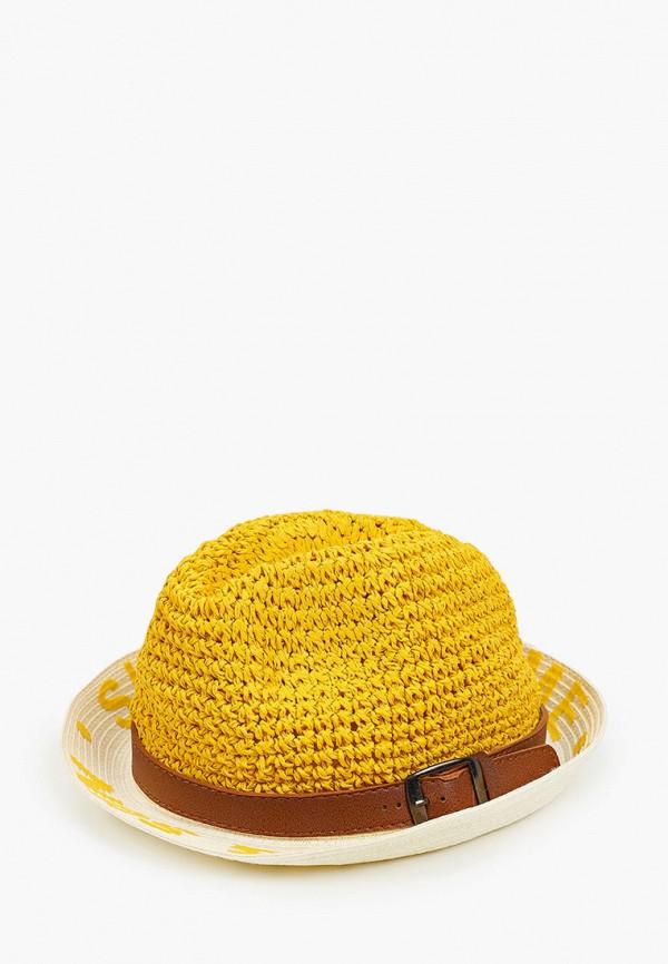 женская шляпа vntg vintage+, желтая