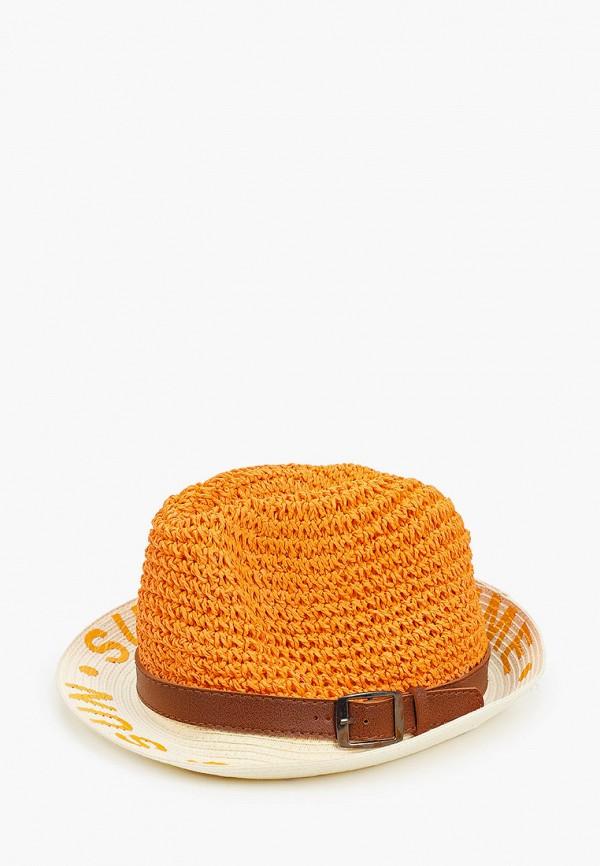 женская шляпа vntg vintage+, оранжевая