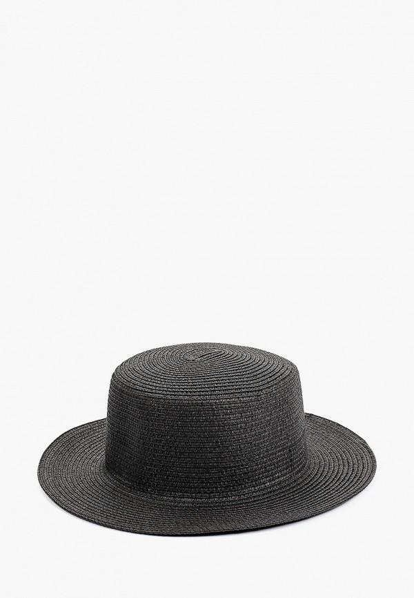 женская шляпа vntg vintage+, черная